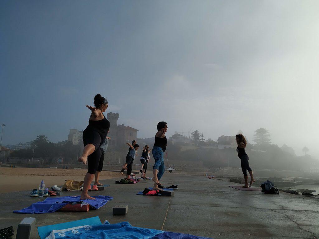 pilates at tamariz beach